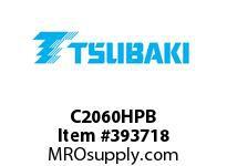 US Tsubaki C2060HPB C2060 HOLLOW PIN LG