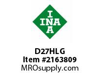 INA D27HLG Thrust ball bearing