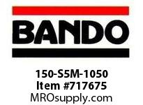 Bando 150-S5M-1050 SYNCHRO-LINK STS TIMING BELT NUMBER OF TEETH: 210 WIDTH: 15 MILLIMETER