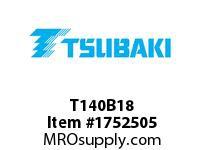 US Tsubaki T140B18 T140B18 1-3/4 SB HT 7 HD 5-15/16 LTB