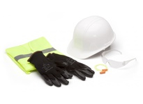 Pyramex NHCL Kit Includes Clear Intruder S4110S RVZ2110L DP1001 HP14010 and Gloves