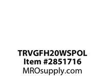 CPR-WDK TRVGFH20WSPOL GFCI TR HG Deco Duplex 20A 125V 7^ Solid