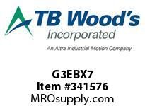 TBWOODS G3EBX7 3X7 EB SPACER