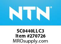 NTN SC0440LLC3 SMALL SIZE BALL BRG(STANDARD)