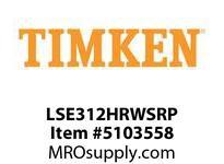 TIMKEN LSE312HRWSRP Split CRB Housed Unit Component