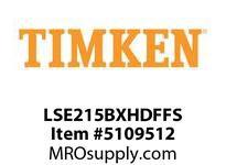 TIMKEN LSE215BXHDFFS Split CRB Housed Unit Assembly