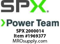 SPX 2000014 VALVE DO3 10 VOLT 4W 3P OPEN CENTER