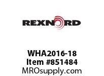 REXNORD WHA2016-18 WHA2016-18 WHA2016 18 INCH WIDE MATTOP CHAIN W