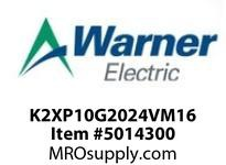 Warner Electric K2XP10G2024VM16 WL001BB045JBAC0030 K2XP1.0G20-24VM-16