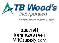 TBWOODS 236.19H OLDHAM DISC 19