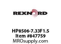 REXNORD HP8506-7.33F1.5 HP8506-7.33 F1.5 T18PN.75 HP8506 7.33 INCH WIDE MATTOP CHAIN