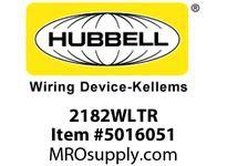 HBL_WDK 2182WLTR HBL-PRO HG DECO 20A/125V LED TR WH