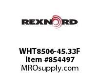 REXNORD WHT8506-45.33F WHT8506-45.33 F.125 T8P