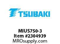 """US Tsubaki MIUS750-3 Cam-Indexing MIUS750 3.000"""""""