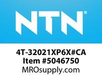 NTN 4T-32021XP6X#CA TAPERED ROLLER BEARINGS MEDIUM SIZE TAPERED ROLLER BRG