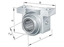 INA KGB1232PPAS Linear precision bearing unit
