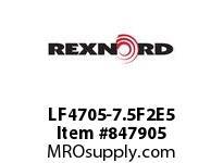 REXNORD LF4705-7.5F2E5 LF4705-7.5 F2 T5P