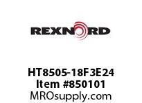 REXNORD HT8505-18F3E24 HT8505-18 F3 T24P N1.375 HT8505 18 INCH WIDE MATTOP CHAIN WI