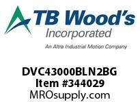 TBWOODS DVC43000BLN2BG INV DVC NEMA1 460V 300HP CL