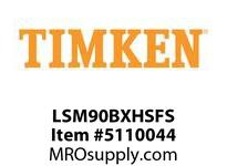 TIMKEN LSM90BXHSFS Split CRB Housed Unit Assembly