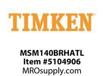 TIMKEN MSM140BRHATL Split CRB Housed Unit Assembly