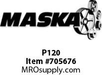 Replaced by Dodge 011112 see Alternate product link below Maska P120 RUBBER ELEMENT FOR MASKA FLEX