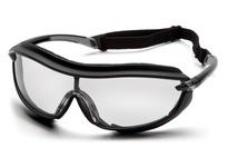 Pyramex SB4610STP Black Frame/Clear Anti-Fog Lens