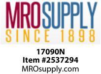 MRO 17090N 3/8 WHT NYLN BULKHD COMP UNION