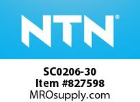 NTN SC0206-30 Bearing Units - Cast Covers