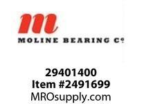 Moline Bearing 29401400 UCFLX20-64 4 MED DUTY 2-BOLT FLANG BALL BEARING