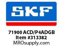 SKF-Bearing 71900 ACD/P4ADGB