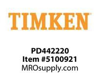 TIMKEN PD442220 Power Lubricator or Accessory