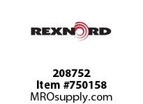 REXNORD 208752 592315 312.S71-8.CPLG STR SD
