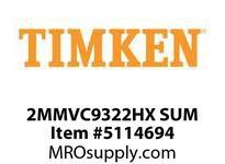 TIMKEN 2MMVC9322HX SUM Ball High Speed Super Precision