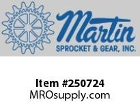 C1028 Spur Gear 14 1/2 Degree Cast Iron