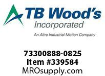 TBWOODS 73300888-0825 73300888-0825 9S T-SF CPLG