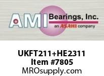 AMI UKFT211+HE2311 2 NORMAL WIDE ADAPTER 2-BOLT FLANGE