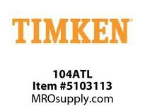 TIMKEN 104ATL Split CRB Housed Unit Component