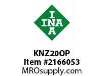 INA KNZ20OP Linear aligning ball bearing
