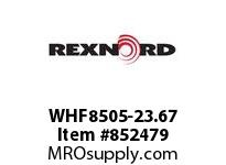 REXNORD WHF8505-23.67 WHF8505-23.67 WHF8505 23.67 INCH WIDE MATTOP CHAI
