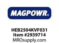 MagPowr HEB2504KVF031 HEB-250 PNEUMATIC BRAKE