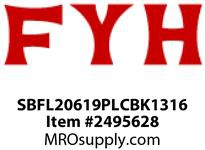 FYH SBFL20619PLCBK1316 1 3/16 2B PLW OPEN COVER + BACK SEAL