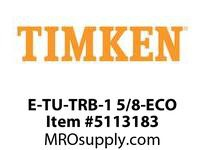 TIMKEN E-TU-TRB-1 5/8-ECO TRB Pillow Block Assembly