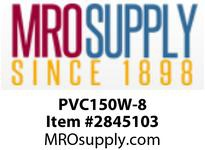 """MRO OPEN ENDS BY WIDTH MATERIAL:PVC150 WHITE C x FS WIDTH: 8"""""""