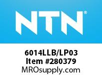 NTN 6014LLB/LP03 MEDIUM SIZE BALL BRG(STANDARD)