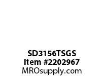 PTI SD3156TSGS SPLIT PLUMMER BLOCK-STEEL