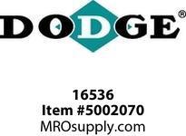 DODGE 016536 RAPTOR 140HCB 170M COUPLINGS/FLEX CLUTCH