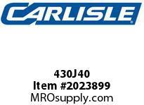 Carlisle 430J40 J Bulk Sleeves