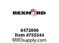 REXNORD 6472006 18-GB4310-01 IDL*35 A/S STL EQ R/G B+