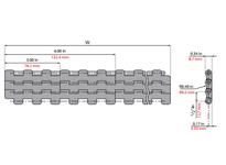 System Plast 261104 LFG2121FT-K1500 MPB-INCH